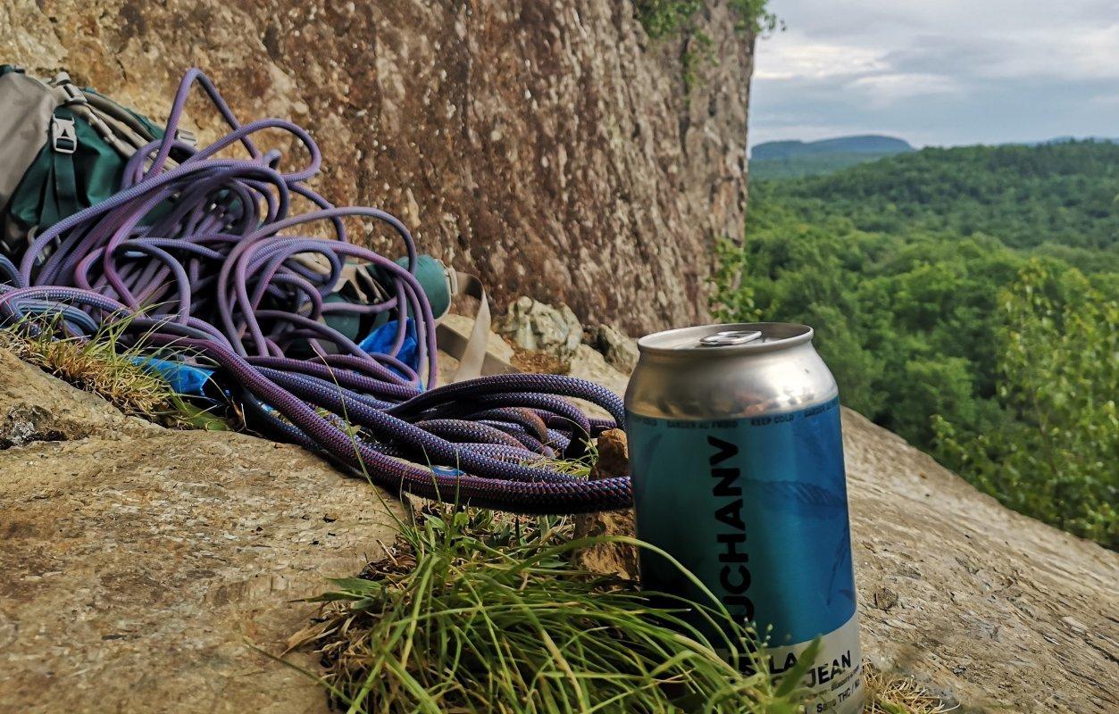 Kombuchanv au bleuet - La boisson officielle de l'été