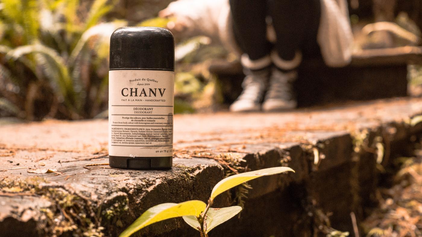 Déodorant naturel sans aluminium. Fait à la main.